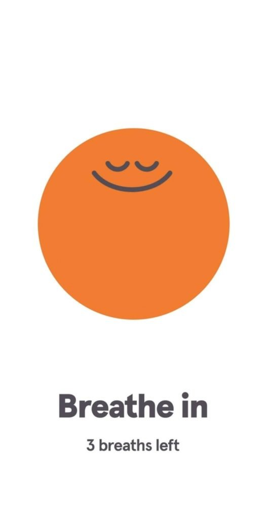 This is a picture of the headspace app cartoon