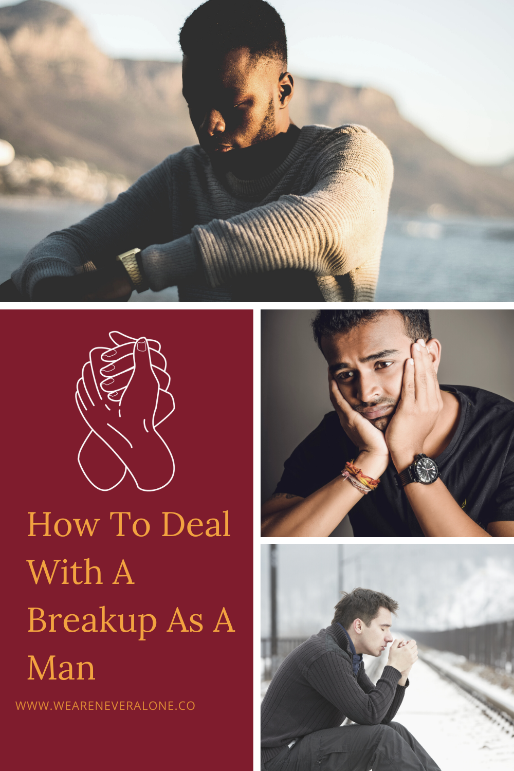 This is how to deal with a breakup as a man