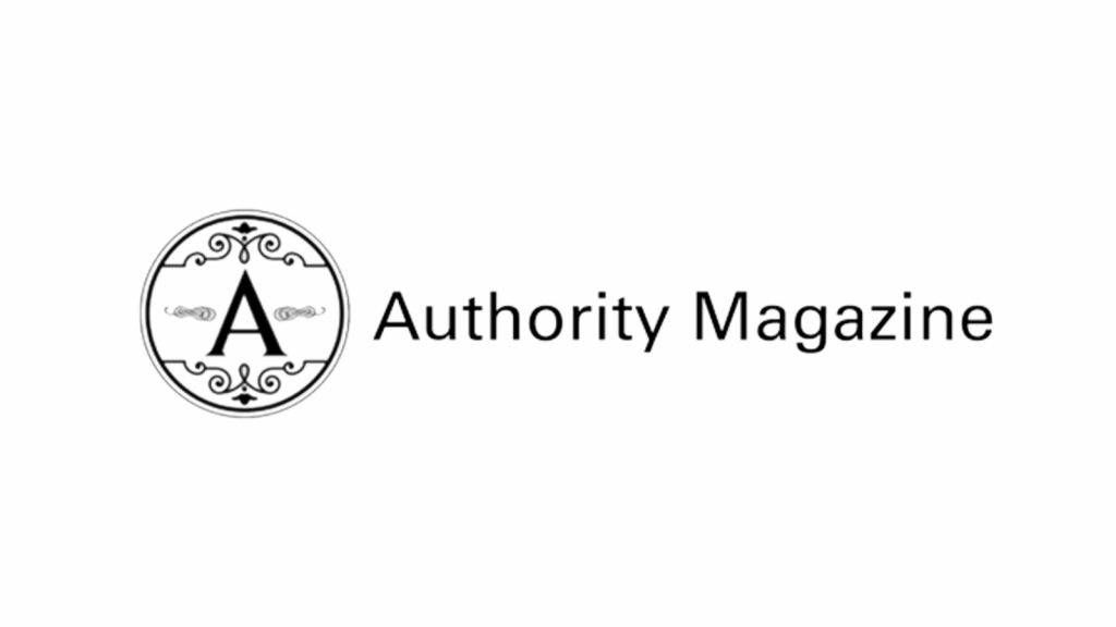 This is the logo for authority magazine