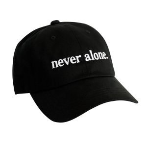never alone dad hat 4x5 background 4